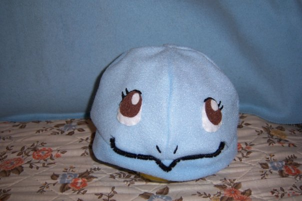 custom squirtle hat