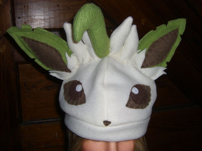 Leafeon hat