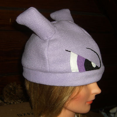 Mewtwo hat - side view