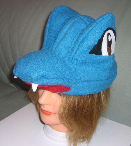 totodile hat side view