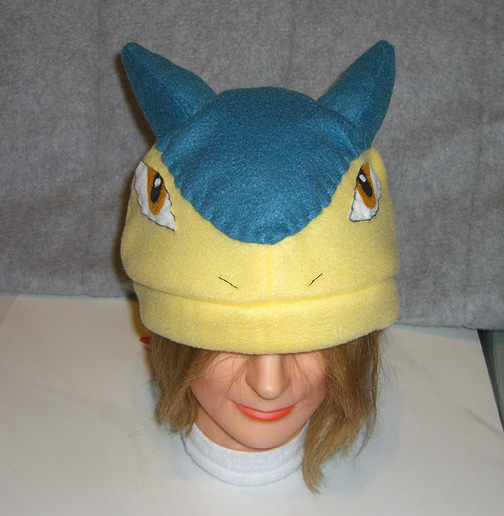 Typhlosion hat - front